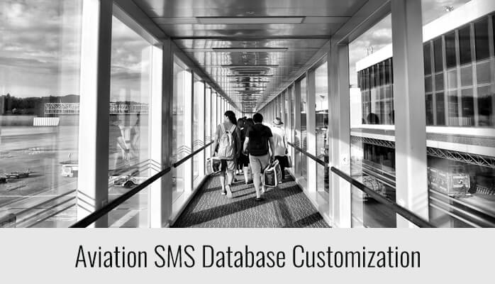 Aviation SMS Database Customization